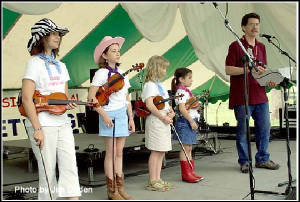 Fiddle Chicks -- Old Settler's Music Festival