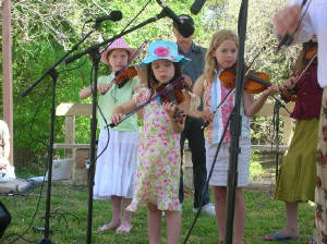 Blazing Bows at LBJ Ranch Book Fair (2005)